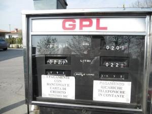 Autogas LPG GPL Tankstelle Gardasee