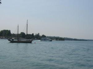 Boot am Gardasee
