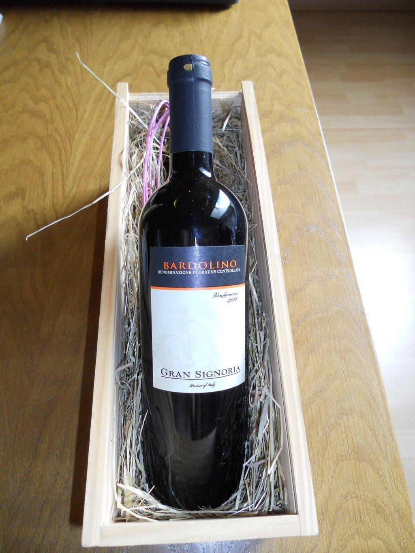 Bardolino Wein vom Gardasee