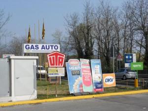 GPL LPG Aperto Gas Tankstelle