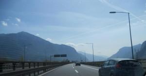 Gardasee-Brennero-Brenner-Autobahn