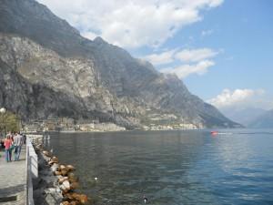 Hafenblick Limone Gardasee Sommer Sonne