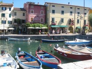 Lazise Gardasee Hafen See