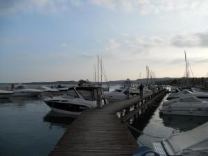 Moniga del Garda Hafen