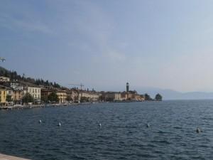 Salo Gardasee Hafen View Berg