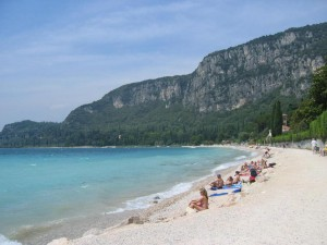 Strand in Garda am Gardasee