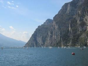 Panorama bei Riva del Garda