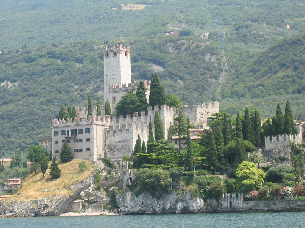 Castello Scaligero in Malcesine am Gardasee