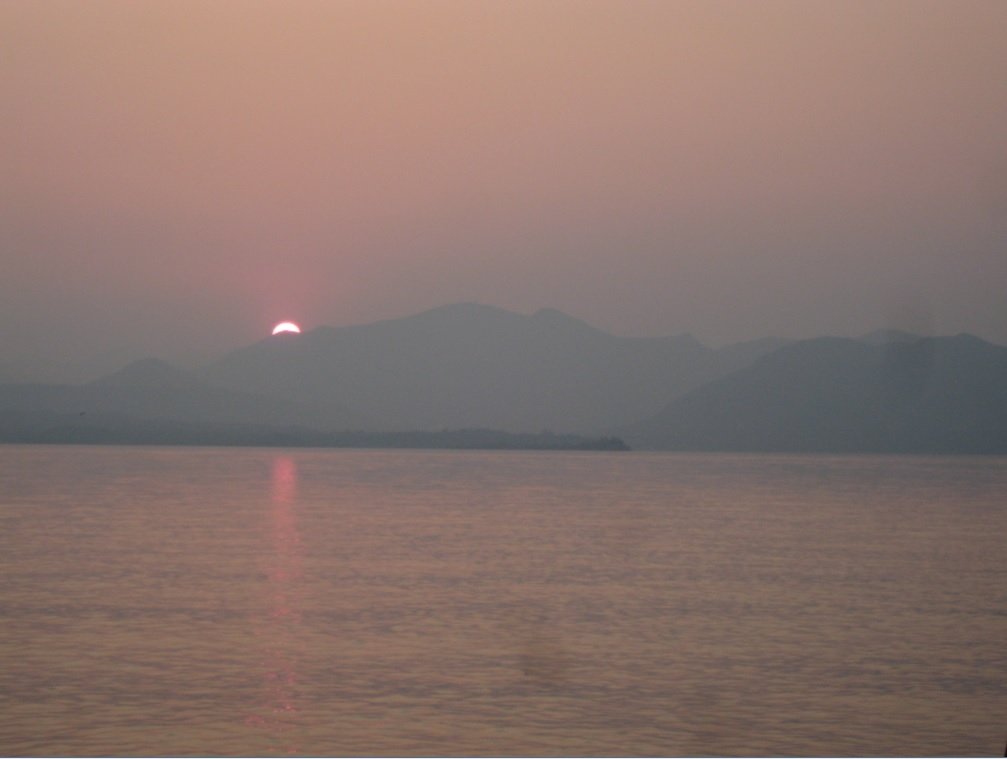 Sonnenuntergang Gardasee