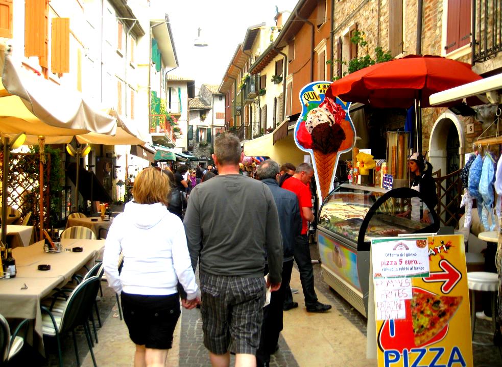 Wochenmarkt Gardasee