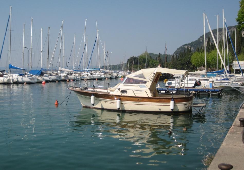 Motorboot Gardasee