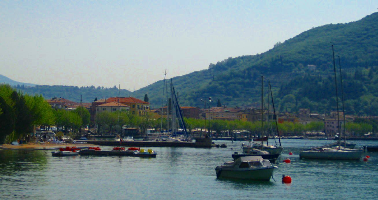 Ausblick Ferienhaus Gardasee