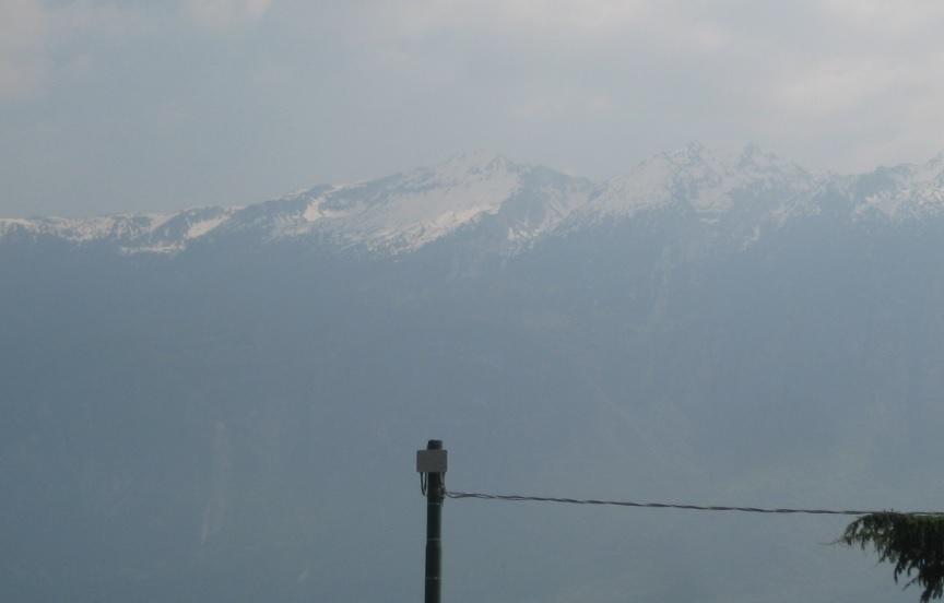 Schnee auf dem Monte Baldo