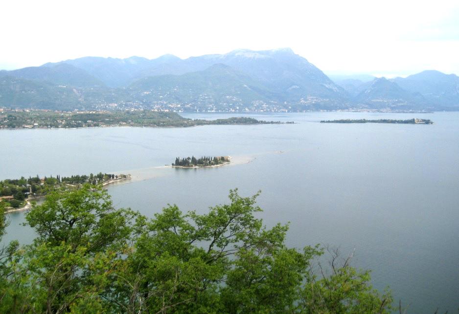 Blick von Rocca di Manerba