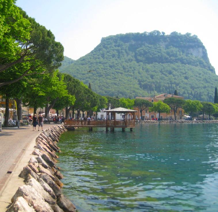 Seeufer am Gardasee