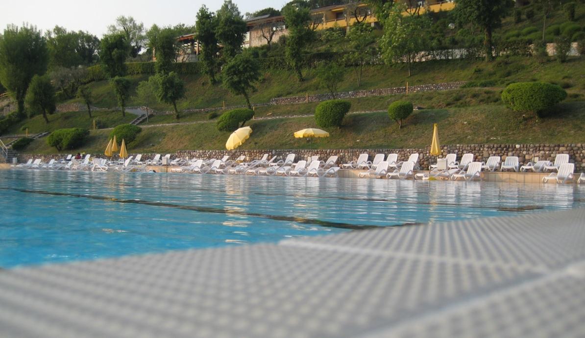 Pool Wetter am Gardasee