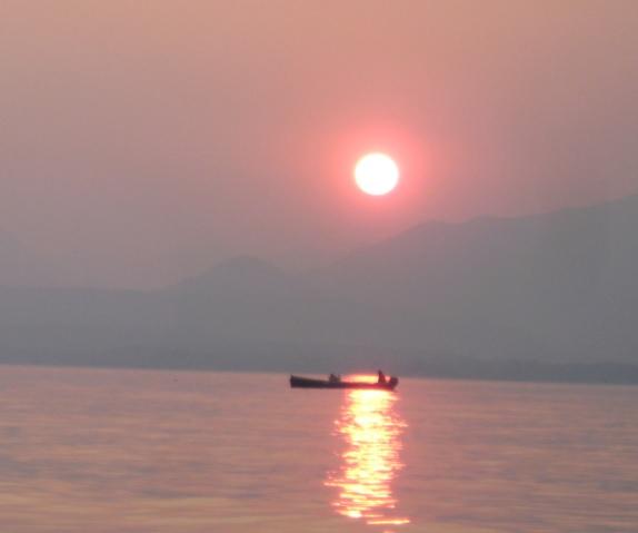 Fischer am Gardasee