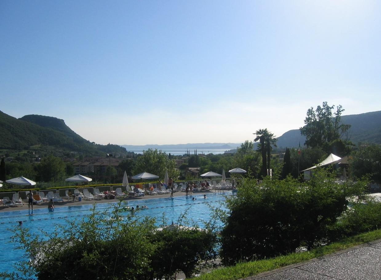 Sommertag am Gardasee in Italien