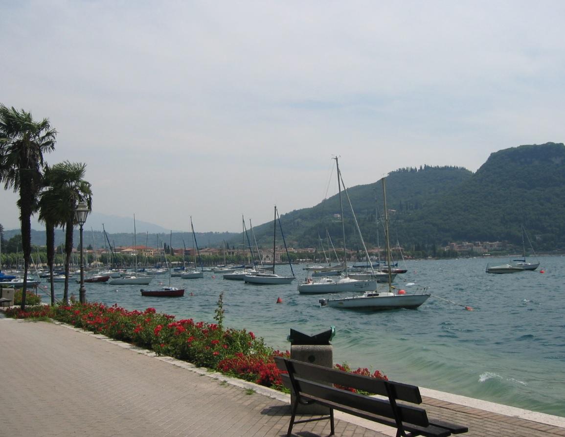 Badestrand am Gardasee