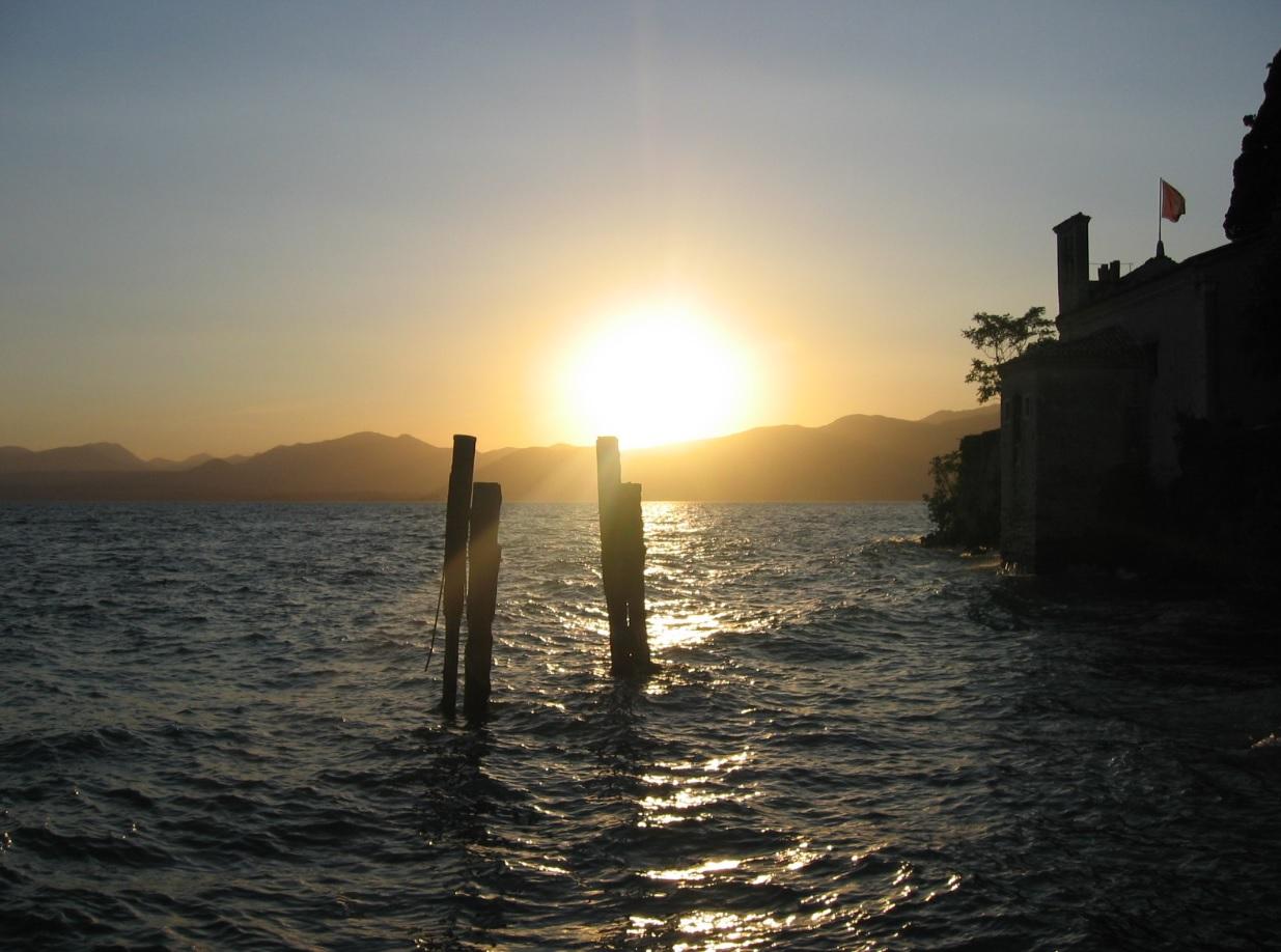 Sonnenuntergang an der Punta