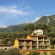 Blick zum Gipfel des Monte Baldos am Gardasee