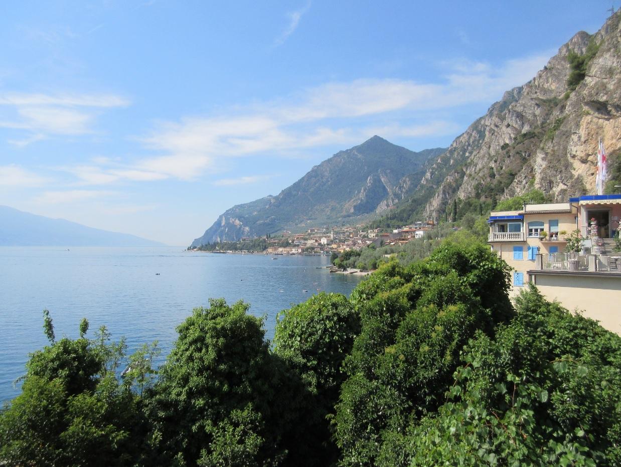 Panoramablick Gardasee 2016