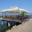 Restaurantterrasse am Gardasee