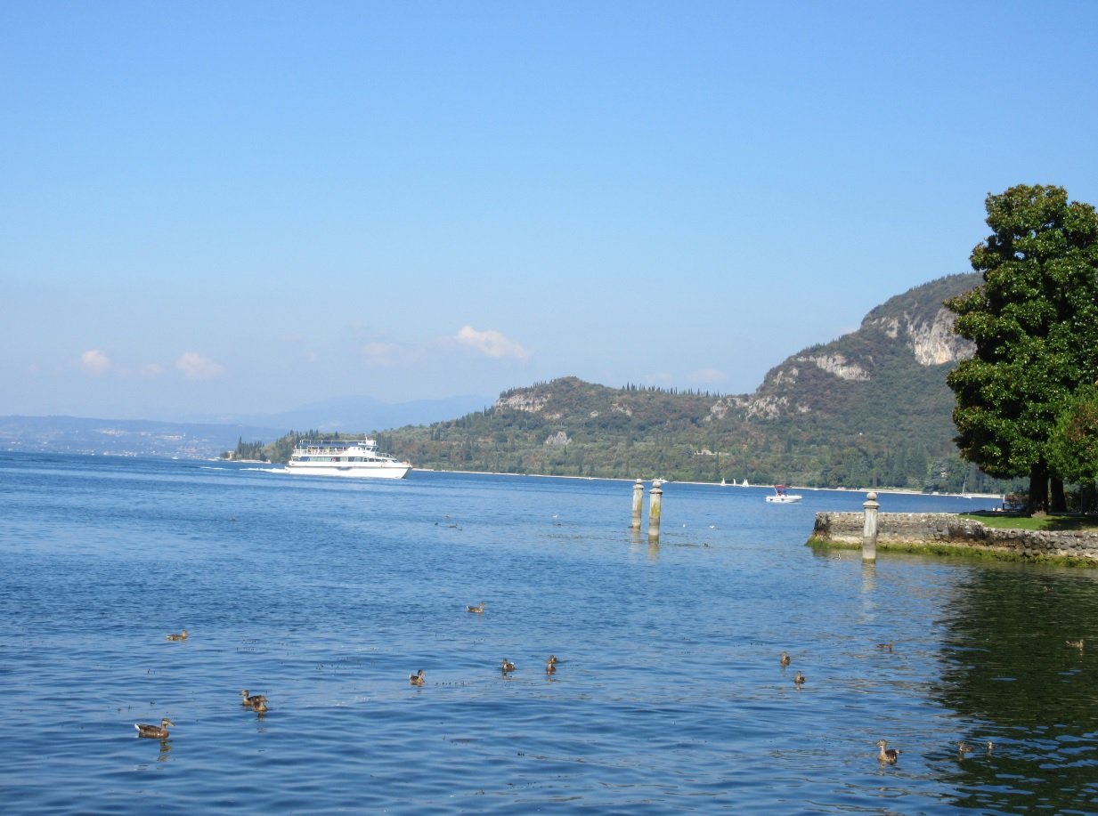 Seeblick 2016 am Gardasee